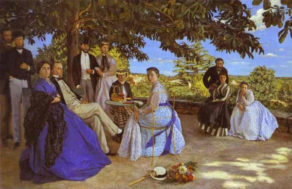 Family Reunion Frederic Bazille