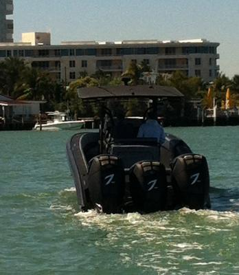 Seven Marine test 557hp Outboards